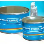 Szpachlówka Profix jest jedną z najczęściej stosowanych w przemyśle. Cena niewielka.