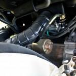 Agresywnie testowany, niedotarty i zablokowany silnik wysysał z baku 2.05 L na setkę.