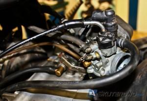 Wysokie spalanie można kompensować odpowiednią regulacją gaźnika.
