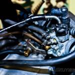 Należy jednak pamiętać o podkręceniu dawki oleju przy gaźniku/dozowniku lub laniu dodatkowego oleju do paliwa.