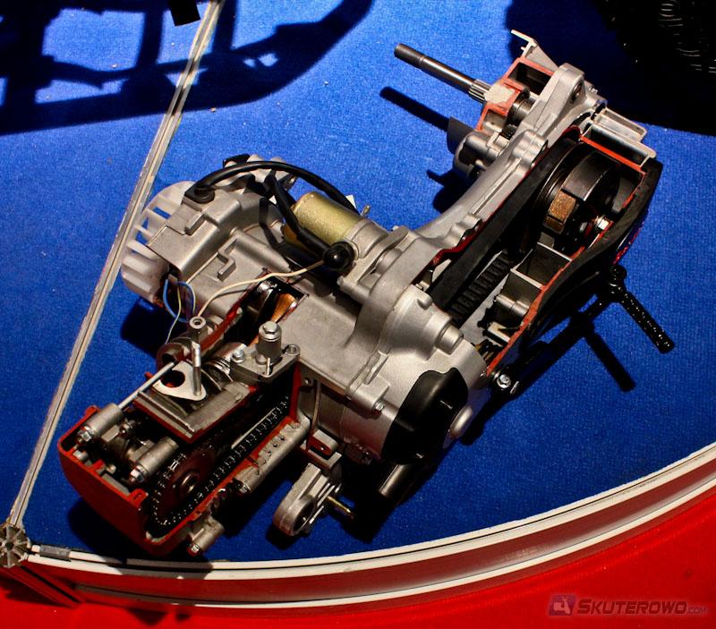 Silnik Czterosuwowy 4T Jest O Wiele Bardziej Skomplikowany