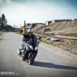 Kymco Xciting R 500 wyzwala ogromne emocje podczas jazdy