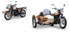 Romet Classic 400 z wózkiem bocznym