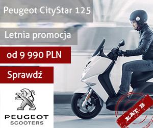 Skuter Peugeot Citystar 125 ccm