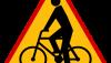 Znak A-24: rowerzyści