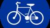 Znak C-13: droga dla rowerów