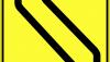 Znak F-21: ruch skierowany na sąsiednią jezdnię