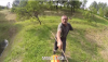 Atak rolnika na motocrossowców – zobacz wideo