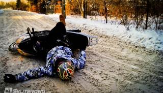 Czyżby to koniec sezonu motocyklowego 2012?