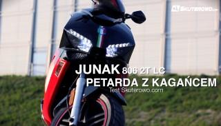 Test Junak 806: Petarda z Kagańcem: Test Skuterowo.com