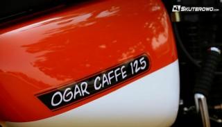 Romet Ogar Caffe 125 (na prawo jazdy B) na targach Motor Show w Poznaniu