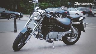 Test Hyosung GV125C: Motocyklowy egocentryk na prawo jazdy B