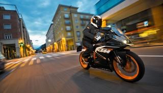 KTM RC 125: poważny motocykl na prawo jazdy kat. B.
