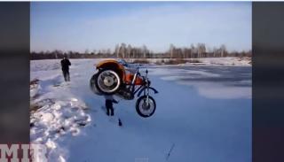 Rosyjscy kaskaderzy na motocyklach – zobacz wideo