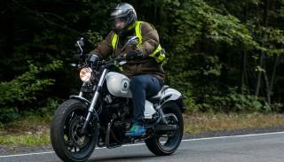 Romet wprowadzi motocykl typu Bobber – Romet RCR 125 2016 z bliska