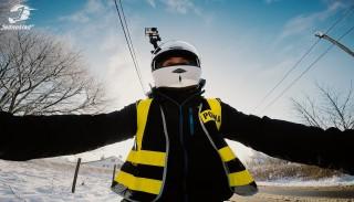 Junak 123 i jazda motocyklem w zimie: #2 Szybcy i Wolni Vlog Jednoślad.pl