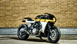 Customowa Yamaha VMAX od roCkSbikes: Yard Built VMAX CS07 Gasoline