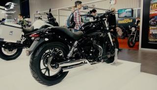 Nowy Romet RCR 125 z bliska na Moto Expo 2016