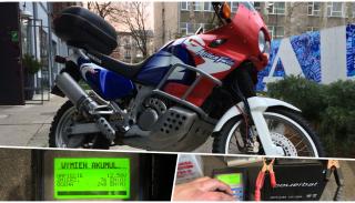 Honda Africa Twin: Dlaczego warto dbać o akumulator w motocyklu?