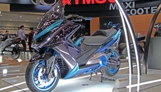 Kymco zaprezentowało nowy skuter: K50 Concept. Zobacz zdjęcia