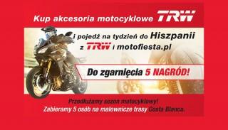 Kup dowolny produkt TRW i wygraj wyprawę do Hiszpanii. Tylko 5 miejsc!