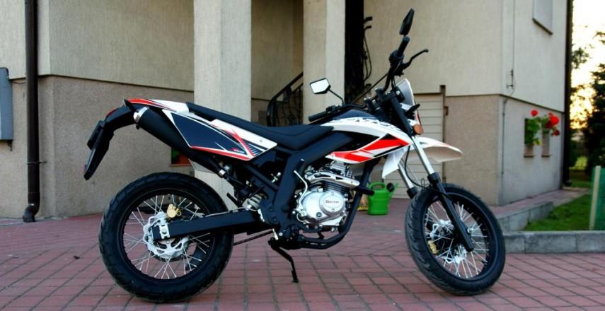 Benzer Xcross 125: Moje pierwsze wrażenia i pierwsze opinie