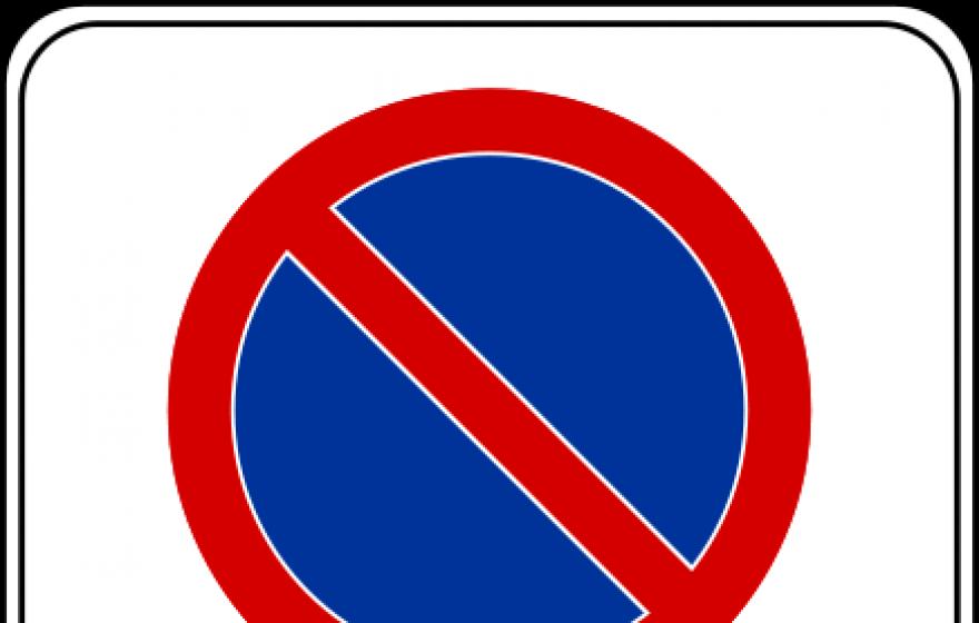 Znak B-39: strefa ograniczonego postoju