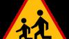 Znak A-17: dzieci