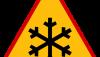 Znak A-32: oszronienie jezdni