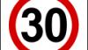 Znaki B-43: strefa ograniczonej prędkości