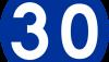 Znak C-14: prędkość minimalna