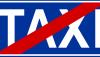 Znak D-20: koniec postoju taksówek