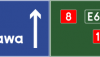 Znak E-2d: drogowskaz tablicowy umieszczany…