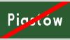 Znak E-18a: koniec miejscowości