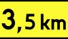 Znak T-2: tabliczka wskazująca długość...