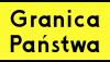 Znak T-17: tabliczka wskazująca granicę państwa