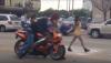 Wjechał w grupę tancerek motocyklem - zobacz wideo
