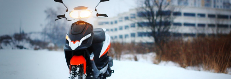 Opony zimowe do skutera i motocykla: Kiedy zmieniać opony?