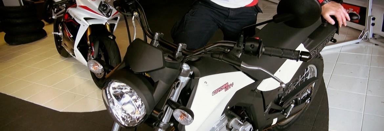 Derbi Cross City 125 (motocykl na prawo jazdy B): Prezentacja