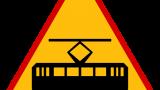 Znak A-21: tramwaj
