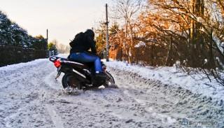 Do kiedy można jeździć na motocyklu i motorowerze? Czy wolno jeździć zimą? #68 Szybcy i Wolni Vlog