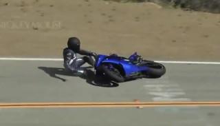 Jak Yamaha R6 Hondę spotkała, czyli spektakularny szlif na Mulholland Hwy