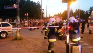 Router Bassa, groźny wypadek w Piastowie
