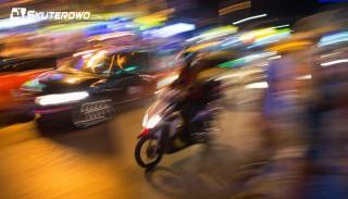 Kompilacja wypadków w Rosji na skuterach