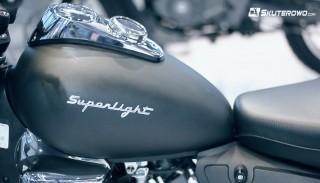 Keeway Superlight 125 (na prawo jazdy B) na Targach Motor Show w Poznaniu