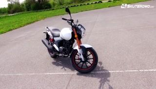 Motocykl Keeway RKV 125 (na prawo jazdy B): Z bliska w Skuterowo.com
