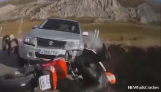 Wypadki motocyklowe, czyli miks brawury, bezmyślności i szczęścia