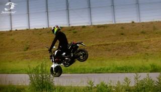 Motorynka Romet Pony 2016: Testuje Damian Kreller Stunt Rider