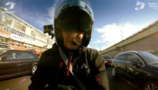 30 minut jazdy na Kymco Downtown 125i ABS #46 Szybcy i Wolni Vlog Jednoślad.pl