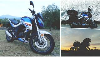 Motocykle 125: Krzysztof Troka przejechał 8000 km na nowym Junaku RS 125 Pro